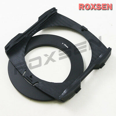 Wide Angle Color Filter Holder for Cokin P series filter + 77mm P Adapter Ring