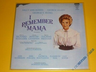 *LP* I REMEMBER MAMA - The Musical * That's Entertainment Production Ltd. *