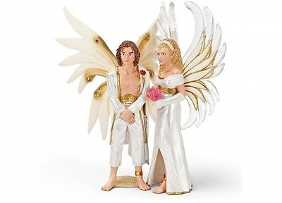 Schleich 70435 Sireel & Solfur Bride and Groom Bayala Elf Toy Retired - NIP
