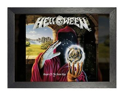 Helloween 2 Photo Rock Band Print Heavy Metal Picture Vintage Music Poster