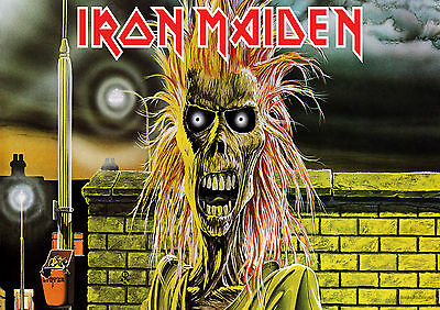 Iron Maiden 11 Heavy  Rock Band  Poster Print  A4 A3