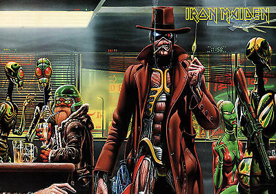 Iron Maiden 17 Heavy  Rock Band  Poster Print  A4 A3