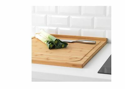 Ikea Large Chopping board Cutting Kitchen 53 X 46 CM LÄMPLIG Bamboo