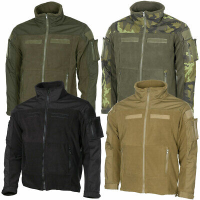 Fleecejacke COMBAT S-3XL, Tactical Fleece Jacke Survial Outdoor BW Bundeswehr