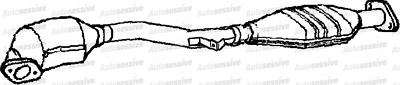 Exhaust Catalytic Converter For Subaru Legacy 2.5 Ej25 Est Outback 4X4 00-03