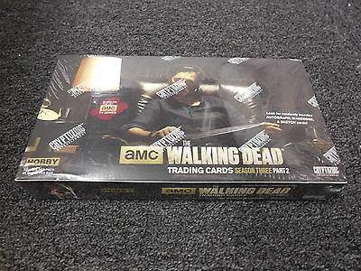 The Walking Dead Season 3 Part 2 - Factory Sealed Hobby Box - Cryptozoic