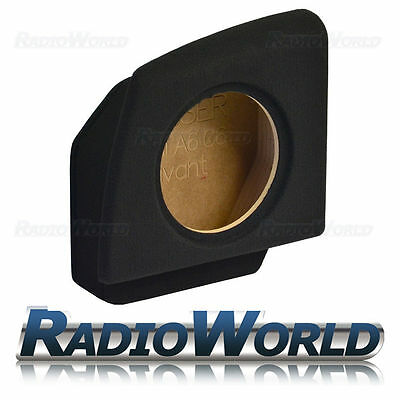"Audi A6/C6 Avant 2004 > 2011 Custom Fit MDF 10"" Sub Box Subwoofer Enclosure Bass"