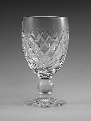 """WATERFORD crystal DONEGAL pattern White WINE GOBLET or GLASS 4-1//2/"""""""