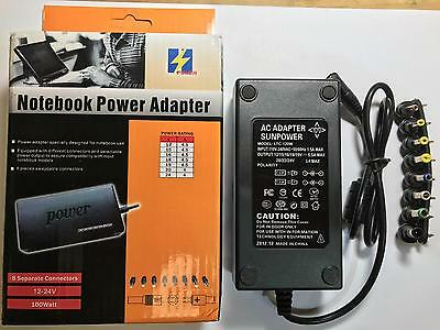 12V/15V/16V/18V/19V 4.5A 20V/24V 4A AC-DC Adaptor Power Supply 3.5mm x 1.35mm