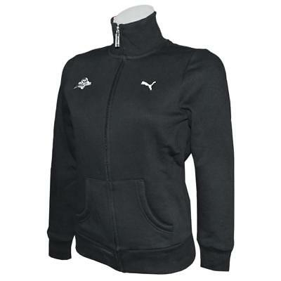 Puma Active Virgin Damen Sweatjacke Trainingsjacke Sport Jacke schwarz