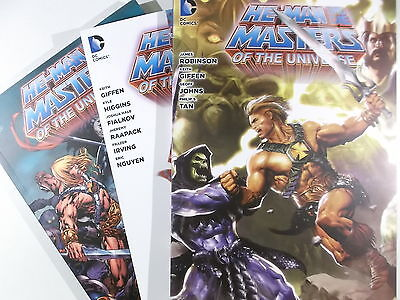 Auswahl = HE-MAN UND DIE MASTERS OF THE UNIVERSE 1 2 3 4 5 6 7 ( PANINI ) NEU