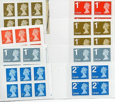 NEW Royal Mail Stamps FIRST SECOND 1st / 2nd  Class or  Large Letter