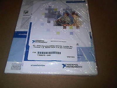 NI National Instruments Switch Documentation and SW Combo Kit 778837D-040