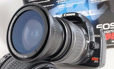 Ultra Wide Angle Macro Fisheye Lens for Canon Eos Digital Rebel & XTi 18-55 EF-S