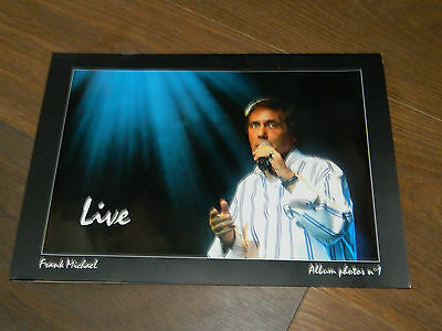 LIVRET PHOTOS book photo FRANK MICHAEL album n°1 LIVE