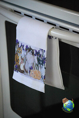 Cats Kitchen Hand Towel