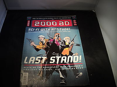 2000 AD - Prog 1082 - 17 Feb 1997 - SCI FI WITH ATTITUDE - LAST STAND