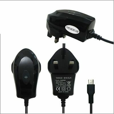 UK MAINS WALL HOME CHARGER FOR BlackBerry Torch 9800