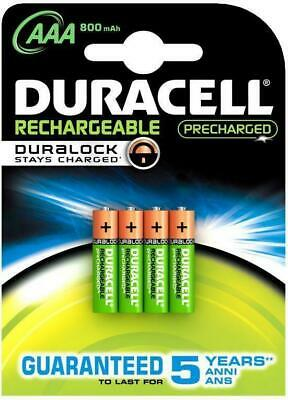 8 x Duracell Akku AAA Micro Rechargeable DURALOCK Stays Charged 800 mAh Blister