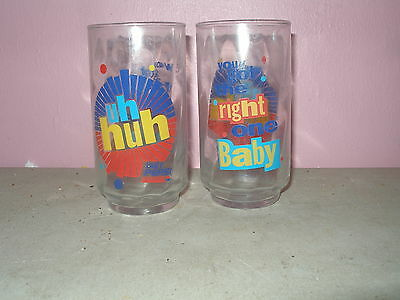 You Got The Right One Baby Uh Huh Glasses Diet Pepsi  Set of 2