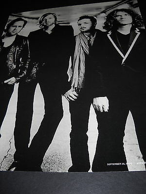 THE KILLERS sensational Black and White 2006 Photo Image PROMO DISPLAY AD mint