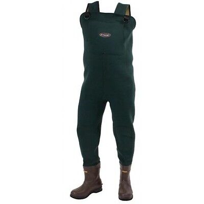 FROGG TOGGS AMPHIB NEOPRENE BOOTFOOT WADERS Sizes 9-14  #2713243