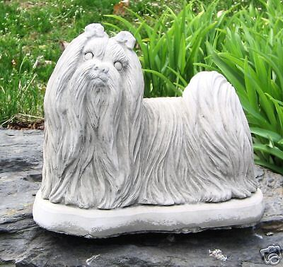 Concrete Maltese Dog Statue Or Use As A Monument