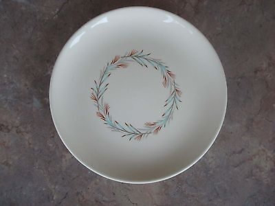 "Vintage Taylor Smith Taylor FORTUNE Bread & Butter Dessert Plate 7"" Wheat Wreath"