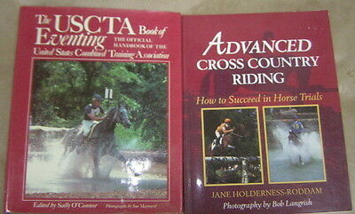 USCTA book of Horse Eventing & Advanced Cross Country Riding Hunter Jumping Book