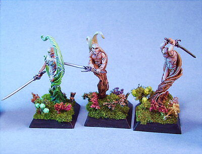 Confrontation painted miniature Sylvan Animes (3)