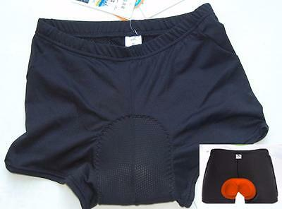 Cycling bike spin class padded underpants knick shorts uni sex
