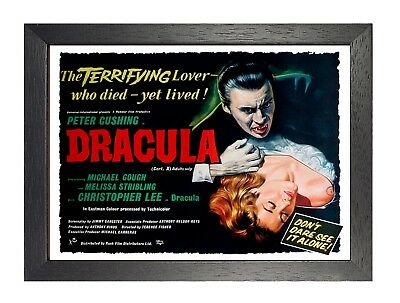Dracula Film Peter Poster Cushing Movie Classic Vintage Horror TV Picture Print
