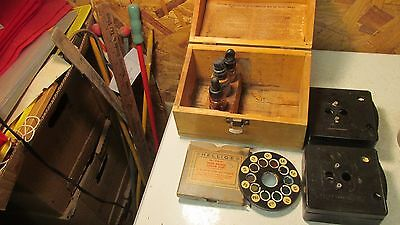 Antique Hellige Chlorine & pH Test Kit with Comnparators