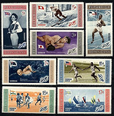 1137 DOMINICAN REPUBLIC 1958 OLYMPIC GAMES, Melbourne MNH