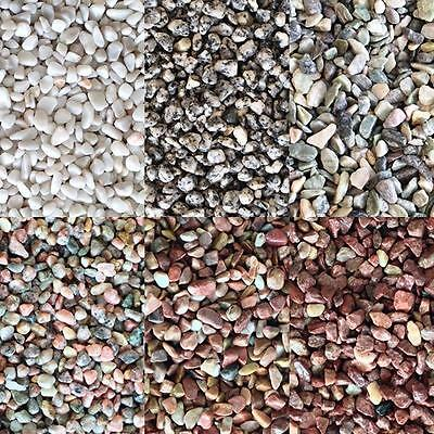 Aquarium Gravel - Fish Tank Stones Substrate Decoration - 6 Types 6-8mm 5-60kg
