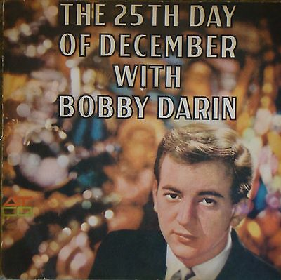 """Bobby Darin The 25th Day Of Christmas (PS) 7"""" Vinyl EP"""