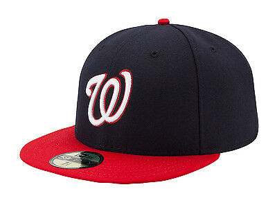 New Era 59Fifty MLB Cap Washington Nationals Alt AC On Field Fitted Hat
