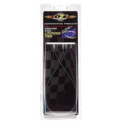 Locking Cable Ties Exhaust Manifold Heat Wrap - DEI Performance
