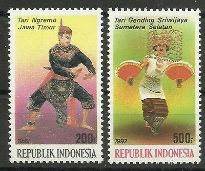 INDONESIEN/ Tänze MiNr 1445/46 **