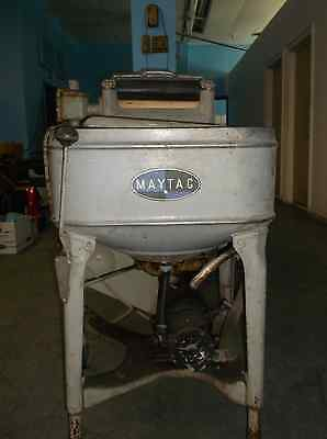 Vintage 1920 S Antique Maytag Roller Washer W Electric