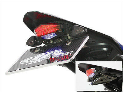 New Yamaha Wr250R Wr250X Red Led Tail Light License Plate Holder Wrx 250
