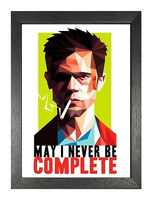 Fight Club 23 Strong Life Dream Brad Pitt Movie Freedom Dont POSTER #33 A3