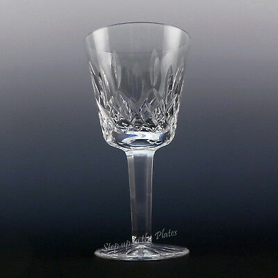"Waterford Crystal LISMORE Red Wine CLARET Glass 5 7/8"" Great Cond Ireland Gothic"