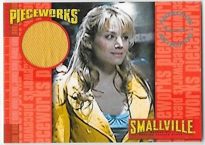 Smallville 6 Pieceworks Costume Card PW5 PW-5 Erica Durance Lois Lane
