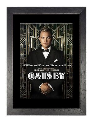 Great Gatsby Di Caprio Movie Star Actor Famous Sexy Handsome Man Poster Film