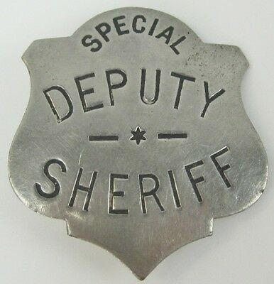 Antique Vintage Police Special Deputy Sheriff Badge C.D Reese New York