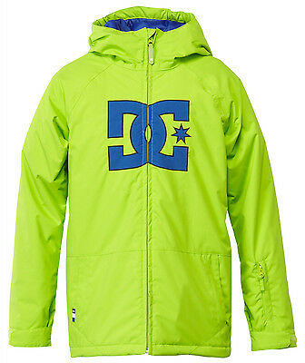 DC Story Snowboard Jacket Lime Green Youth