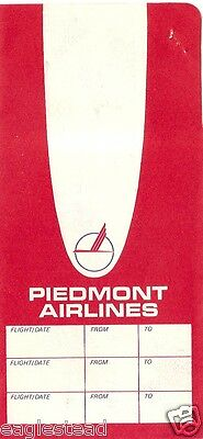 Ticket Jacket - Piedmont - Red White - 3 Flight Format (J1897)