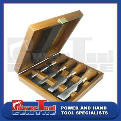 Narex 853750 Wood Line Plus Set of 4 Butt Chisels in a Case 6mm 12mm 20mm & 26mm