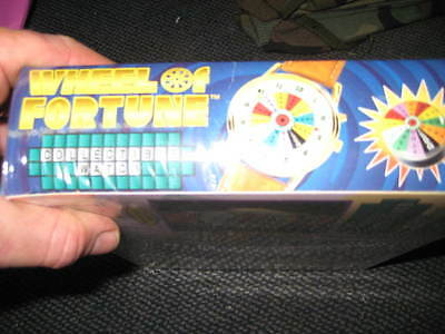 wheel of fortune watch collector's edition 1999 brand new factory sealed
